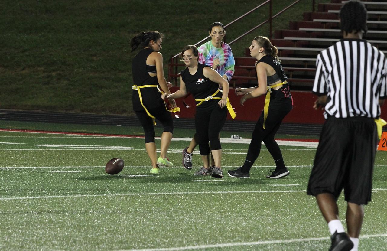 The 2015 homecoming powderpuff football game.