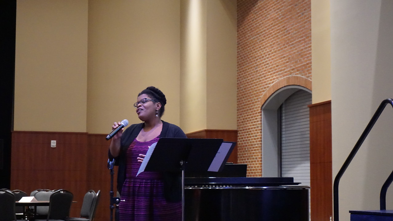 Jondra Harmon sings a special collection of songs in association with the Transcending Boundaries Symposium.