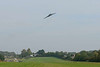 11 October 2015 :: XH558 is approaching Popham Airfield on the Flypast Farewell Flight around the South of England