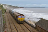 27 October 2015 :: RHTT at Dawlish with 66138 and 66061 and the train is 3J13 from Westbury to St Blazey