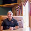 JOED VIERA/STAFF PHOTOGRAPHER-Lockport, NY-Bob Cammarata sits in a booth at Cammarata's Restaurant.