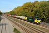 20 October 2015 :: 70019 is seen near Wolvercote Junction powering 4O54 from Leeds to Southampton