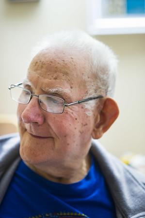 JOED VIERA/STAFF PHOTOGRAPHER-Gasport, NY-Author John Cull chats with Max Warfield.