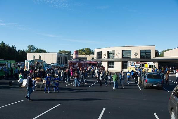 JOED VIERA/STAFF PHOTOGRAPHER-Lockport, NY-Homecoming draws a large crowd at Lockport High School.