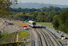 13 October 2015 :: 168325 is pictured near the new Oxford Parkway Station adjacent to Banbury Road stone teminal