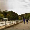 JOED VIERA/STAFF PHOTOGRAPHER-Lockport, NY-People walk along the Canal.