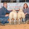 Reserve champion lambs