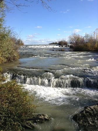 October at Niagra Falls -- American Side