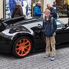 John with a Bugatti