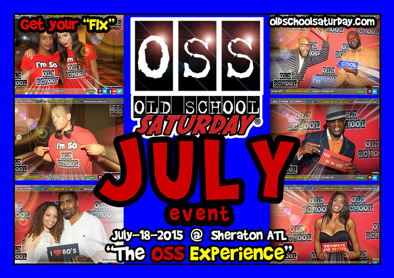 "Join us at THE NEXT event July-18-2015.  We'll be at The Sheraton ATL with TWO ballrooms of event space.  Full info:   <a href=""http://www.oldschoolsaturday.com"">http://www.oldschoolsaturday.com</a>"