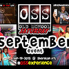 "Sep-19-2015 at The Sheraton.  Full info and tickets:   <a href=""http://www.oldschoolsaturday.com"">http://www.oldschoolsaturday.com</a>"