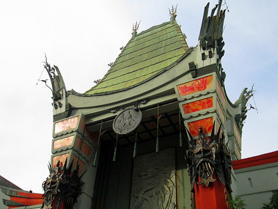 Grauman's Chinese Theater on the Seedy Hollywood Walk of Fame