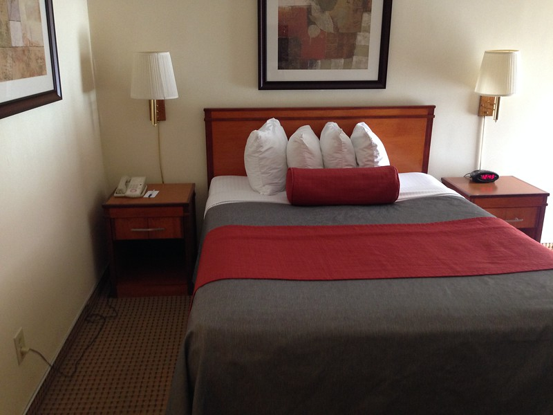 A Standard Room at the Mikado Hotel in North Hollywood