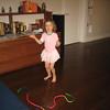 Ellie loves dancing in her tu tu.