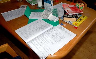 Lesing og studier mellom treningene