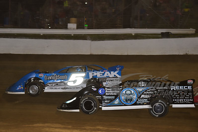0 Scott Bloomquist and 5 Don O'Neal