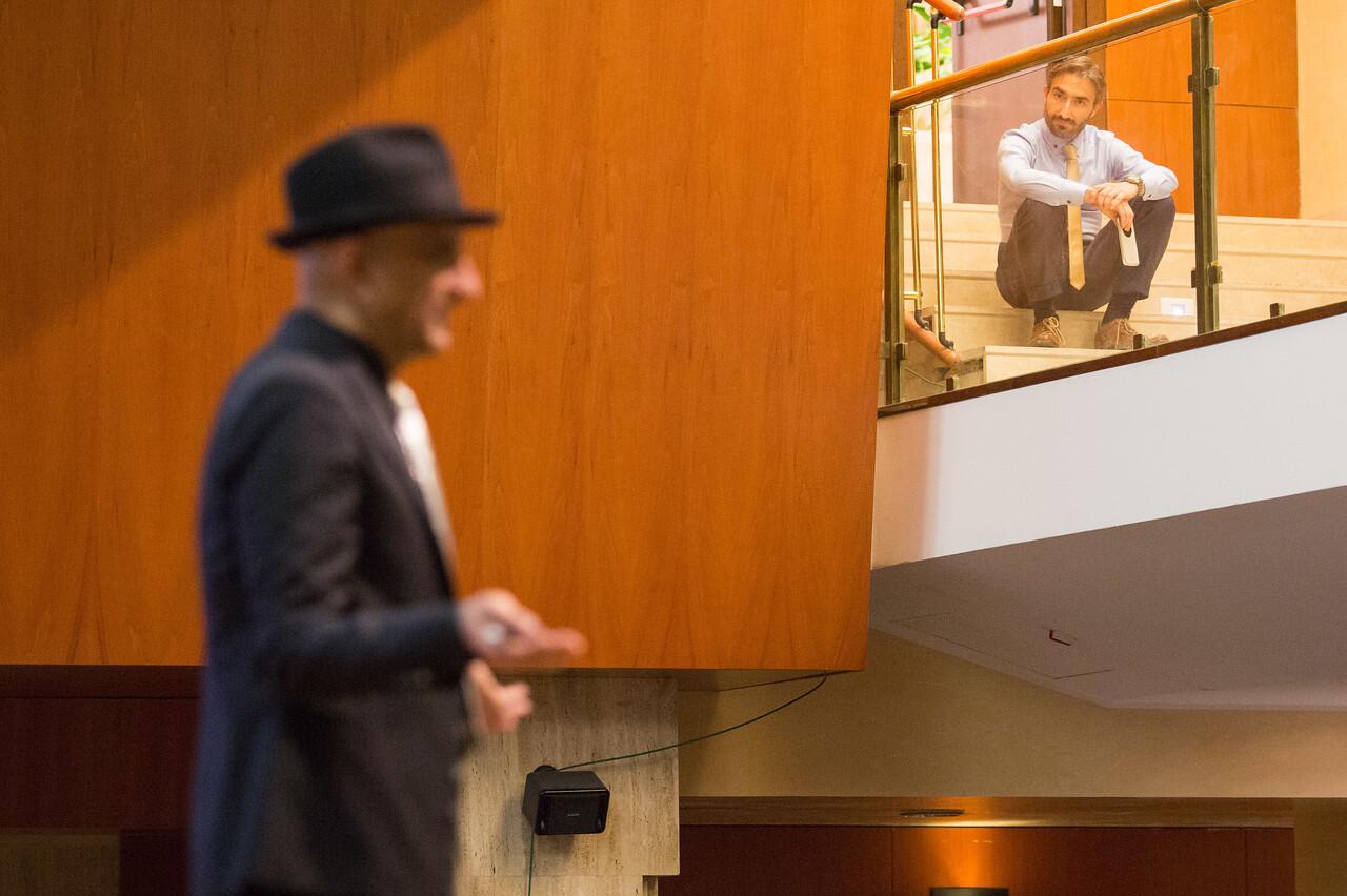 """Conferenza di Ashraf Habibullah dal titolo """" Performance based design - the future of the earthquake engineering"""", organizzata dall'Ordine degli Ingegneri, presso il Centro Congressi Frentani, Roma 20 novembre 2015.  Foto di  ? Remo Casilli/Sintesi"""