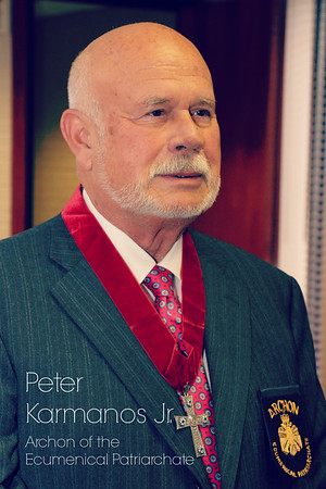 Peter Karmanos Jr. Archon Investiture