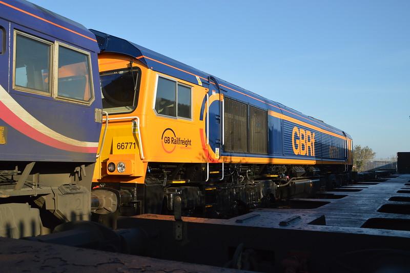 66771 at Peterborough GBRF Depot   06/04/15