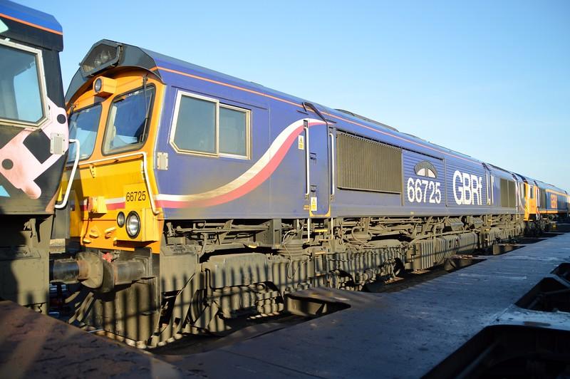 66725 'Sunderland' at Peterborough GBRF Depot   06/04/15