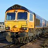 66705 'Golden Jubilee' at Peterborough GBRF Depot   06/04/15