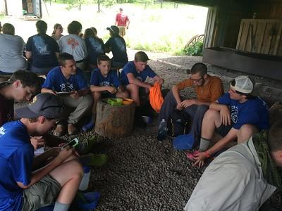 Philmont Clarks Fork Camp 2015