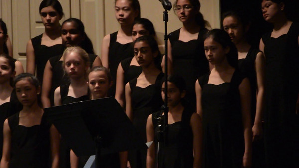 Song 2, Shamika's middle school Choir at CMEA competition