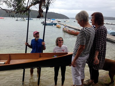 Pittwater Scull Launch