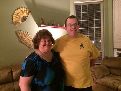 Mom and Dad went to see the symphony play the music to Star Trek.