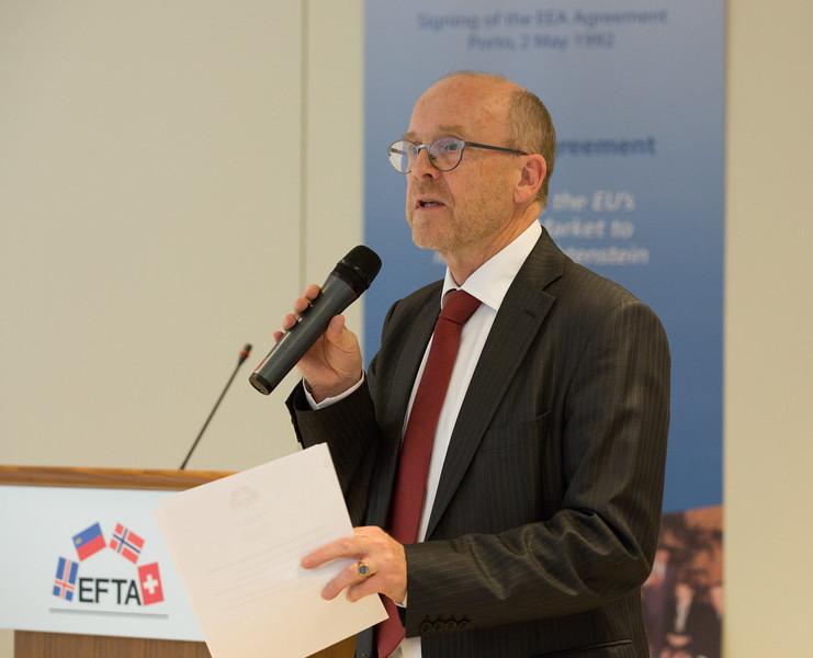 Dag Wernø Holter, EFTA Deputy Secretary-General