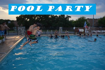 20150814 Pool Party