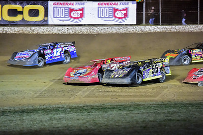 Jeep VanWormer (55), Rod Conley (71R) and Shannon Thornsberry (17)