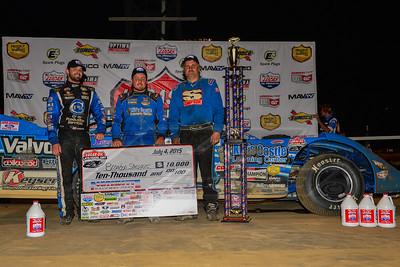 Jared Landers (L) Brandon Sheppard (C), and Dennis Erb, Jr. (R)