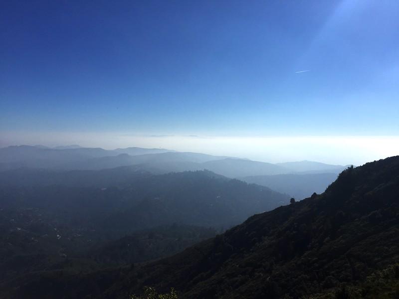 <b>Mt Tamalpais</b> <br>Marin County, CA <br>November 14, 2015