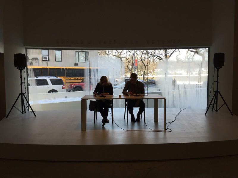 <b>Solomon R. Guggenheim Museum</b> <br>New York, NY <br>February 25, 2015
