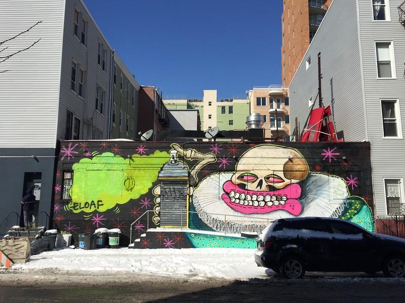 <b>Union Ave</b> <br>Brooklyn, NY <br>March 6, 2015