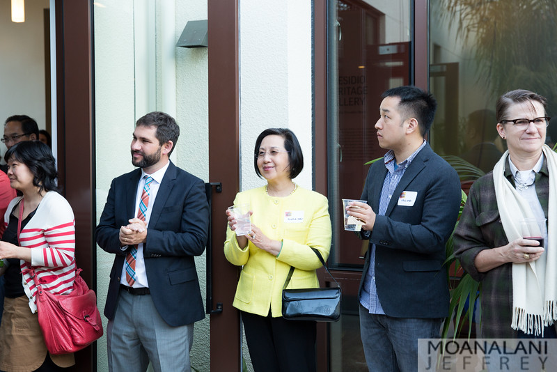 x; Gloria Hao; Eric Hao; Becky Carpenter