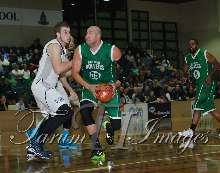 © QBL Gold Coast Rollers v Rockhampton Rockets 9 May 2015-4162