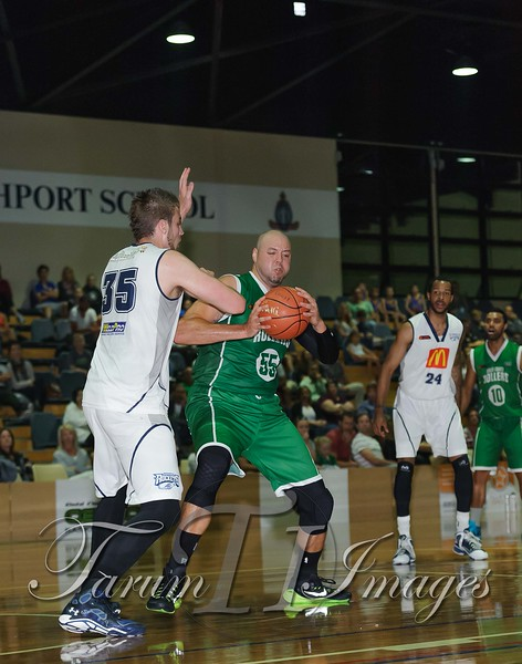 © QBL Gold Coast Rollers v Rockhampton Rockets 9 May 2015-4189