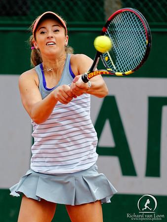 107. Catherine Cartan CiCi Bellis - Roland Garros juniors 2015_107