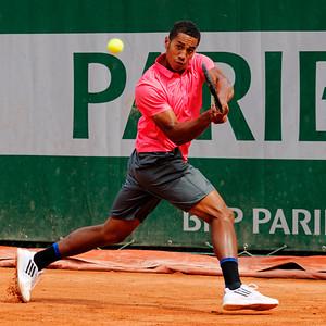 116. Michael Mmoh - Roland Garros juniors 2015_116