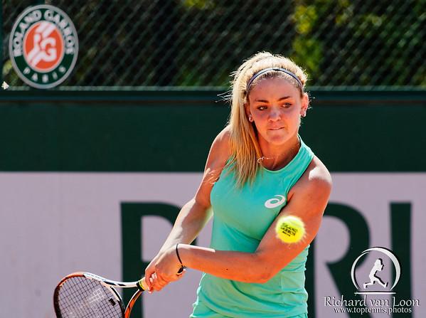 112. Charlotte Robillard-Millette - Roland Garros juniors 2015_112