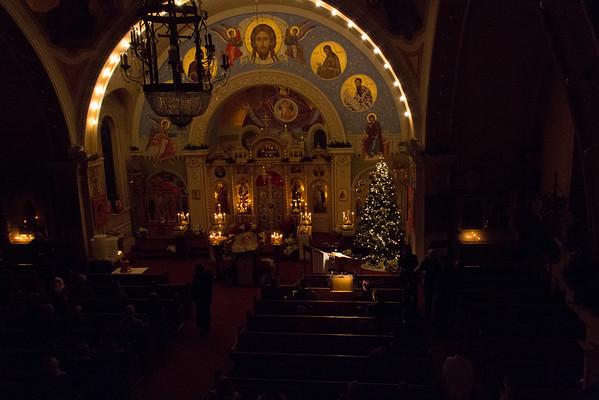 Russian Christmas Vigil