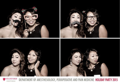 SF 2015-12-12 Stanford Anesthesia Holiday Party