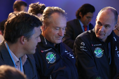 Solar Impulse Pilots