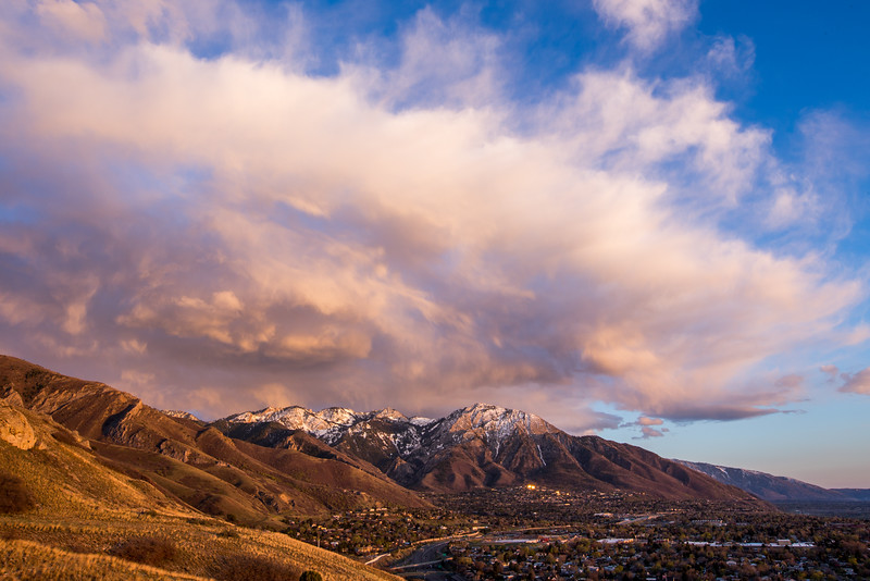 Big Sky Over the Wasatch