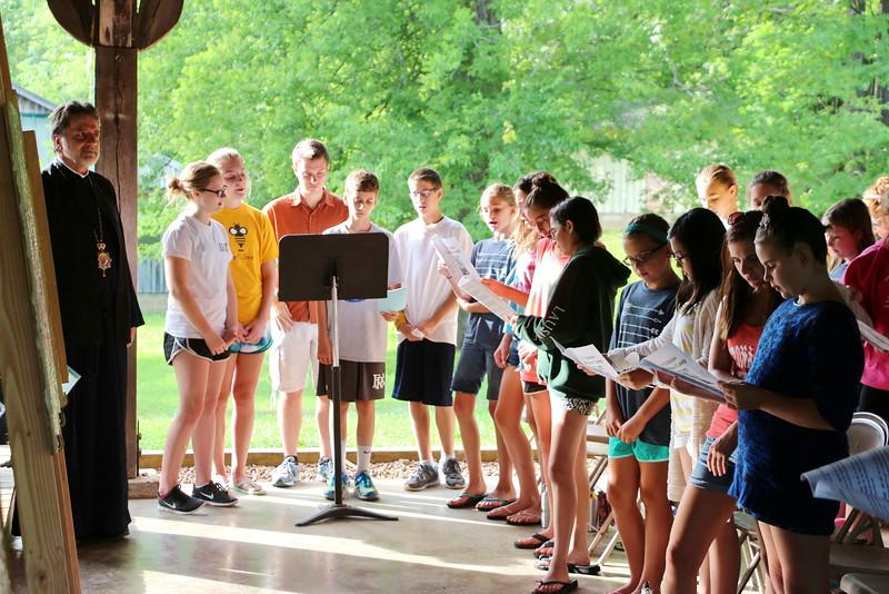 St. Nicholas Summer Camp Visit