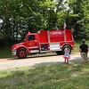 LUBLIN, WISCONSIN FIRE TRUCK   PERKINSTOWN PARADE  7/2015