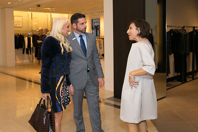Saks Fifth Ave fashion show luncheon launch party for 640 Heritage Foundation