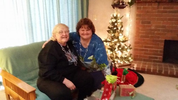 Mom got Grandma Knock the same necklace as her for Christmas as she had admired it earlier in the year.